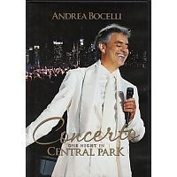Andrea Bocelli - Concerto One Night In Central Park - DVD