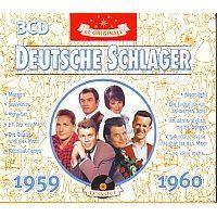 60 Originale Deutsche Schlager 1959-1960 - 3CD