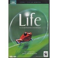 Life - 10 Adembenemende Afleveringen - BBC Earth - Documentaire - 5DVD