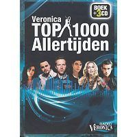 Radio Veronica Top 1000 Allertijden - Boek + 3CD