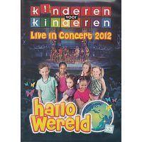 Kinderen voor Kinderen 33 - Hallo Wereld (Live in Concert 2012) - DVD