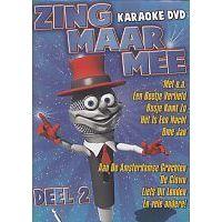 Zing Maar Mee - Deel 2 - Karaoke - DVD