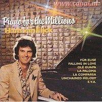 Hans van Eijck - Piano for the millions - CD