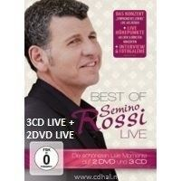 Semino Rossi - Best Of Live - 3CD+2DVD