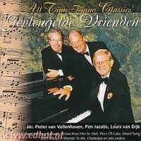 Gevleugelde vrienden - Mr. P. v. Vollenhoven, Pim Jacobs en Louis v. Dijk - All Time Piano Classics - CD