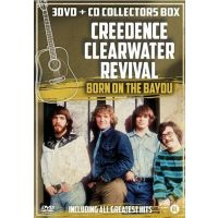 Creedence Clearwater Revival - Born On The Bayou - 3DVD+CD