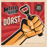 Mooi Wark - Dorst - CD Single