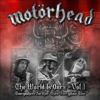 Motorhead - The World Is Ours - Vol. 1 - DVD+2CD