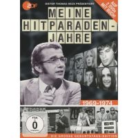 Dieter Thomas Heck Prasentiert - Meine Hitparaden-Jahre 1969-1974 - 2DVD+BOEK