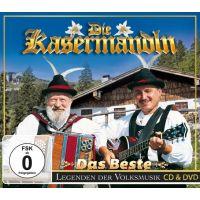 Die Kasermandln - Das Beste - Legenden der Volksmusik - CD+DVD
