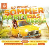 DJ Gerry Prasentiert - Sommer Party - Das Beste - 3CD
