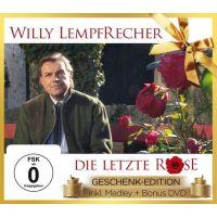 Willy Lempfrecher - Die Letzte Rose - Geschenk Edition - CD+DVD