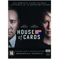 House Of Cards - Seizoen 4 - 4DVD