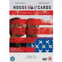 House Of Cards - Seizoen 5 - 4DVD