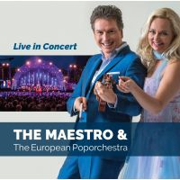 The Maestro & The European Poporchestra - Live in Concert - CD