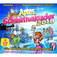 DJ Gerry - Apres Schihuttenkracher 2018 - 4CD
