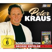 Peter Kraus - Grosse Erfolge + Spielfilm - 2CD+DVD