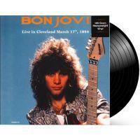 Bon Jovi - Live In Cleveland March 17th, 1984 - LP