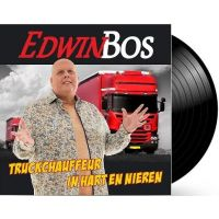Edwin Bos - Truckchauffeur In Hart En Nieren + Wat Lijkt Ze Op Jou - (Zwart) Vinyl Single
