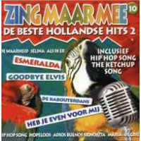 Zing Maar Mee - Volume 10 (De Beste Hollandse Hits 2) Karaoke CD