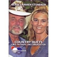 Ben en Carmen Steneker - Country duets like father like daughter - DVD
