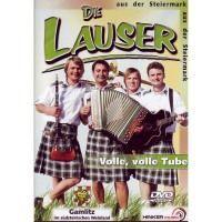 Die Lauser -  Volle, volle Tube - DVD