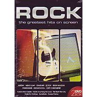Rock, The greatest hits on screan 2DVD-BOX