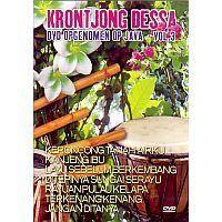 Krontjong Dessa - Vol. 3 - Opgenomen op Java - DVD