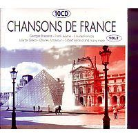 Chansons de la France 10CD Vol. 2