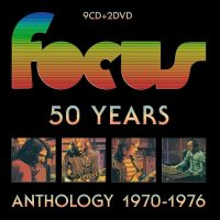 Focus - 50 Years Anthology 1970-1976 - 9DVD+2DVD