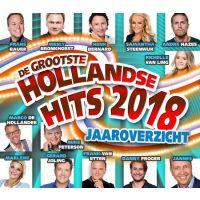 De Grootste Hollandse Hits Jaaroverzicht 2018 - 2CD