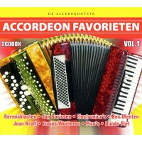 De Allergrootste Accordeon Favorieten - Vol.1 - 2CD