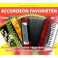 De Allergrootste Accordeon Favorieten - Vol.1 - 2CD