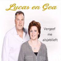 Lucas en Gea - Vergeef Me Alsjeblieft - CD Single