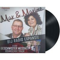 Max & Maxime - Bij Radio Expansie - Vinyl Single