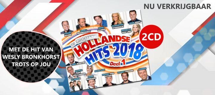 Hollandse Hits 2018. Nu verkrijgbaar