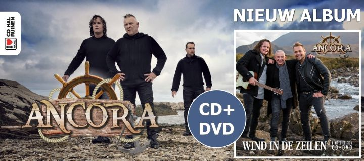 Ancora Wind In de zeilen cd-dvd