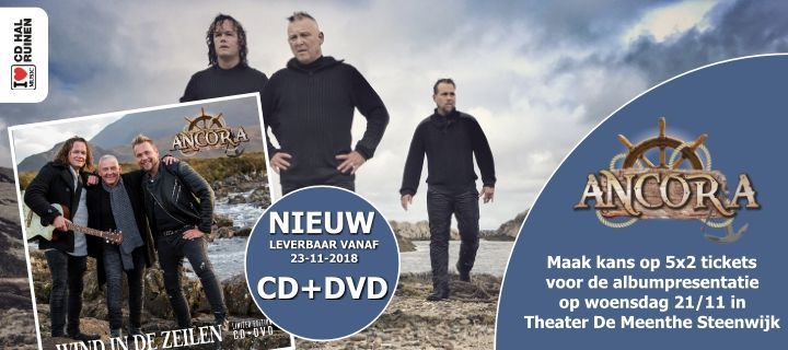 Ancora Wind In de zeilen cd-dvd